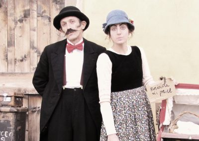 Valda e Osvaldo sbiaditi